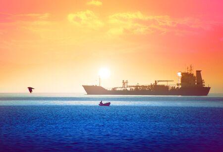 Ocean bliss, a magic sunset