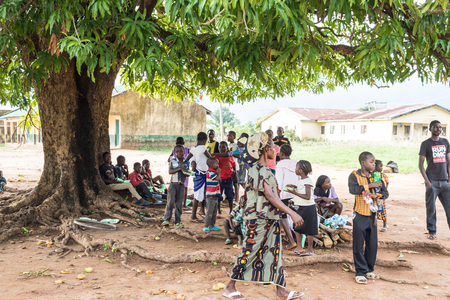 a small community in a northern State in Nigeria Stock Photo - 115124120