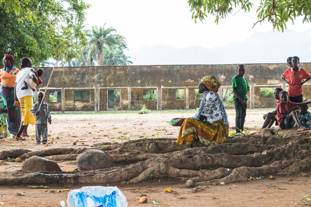 a small community in a northern State in Nigeria