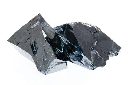 규소: Close-up of Polycrystalline Silicon