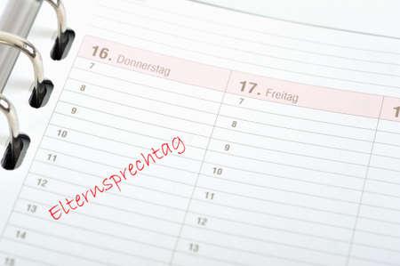 gestion del tiempo: Administraci�n de tiempo del organizador para el