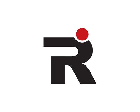 Lettre r icône Banque d'images - 92134599