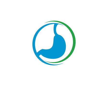 gastric logo vector illustration.