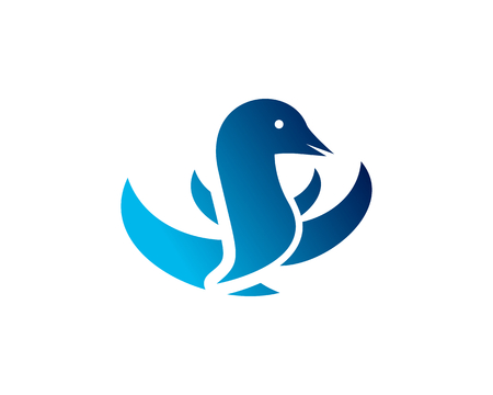 is a symbol associated with animals especially bird Illustration