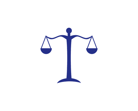 is a symbol symbolizing law, case, judge and prosecutor