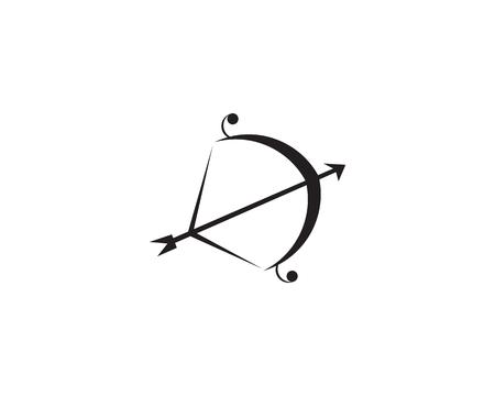 Archers symbol icon 向量圖像