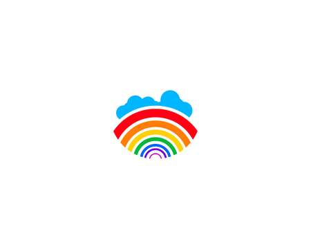 is a symbol associated with nature, especially the rainbow