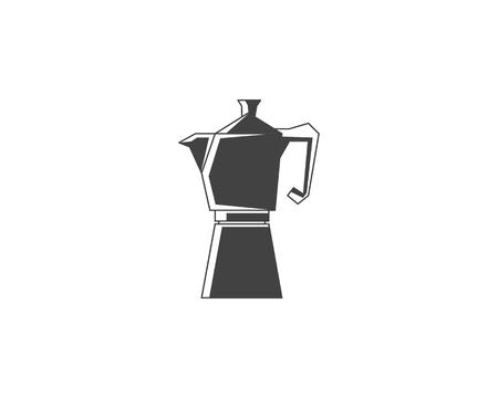 Geyser coffee maker line icon Фото со стока - 116927056