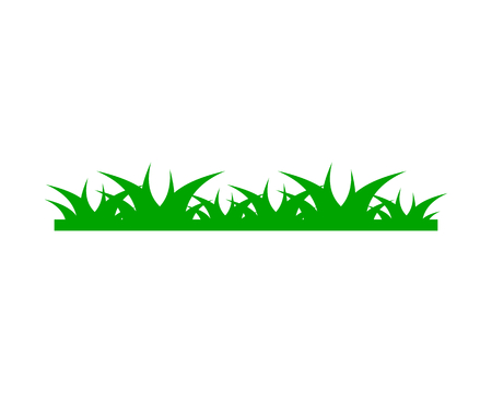 Grass  design template Illustration