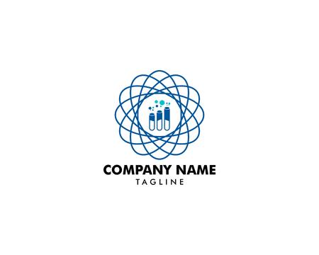 Laboratorium Logo Template