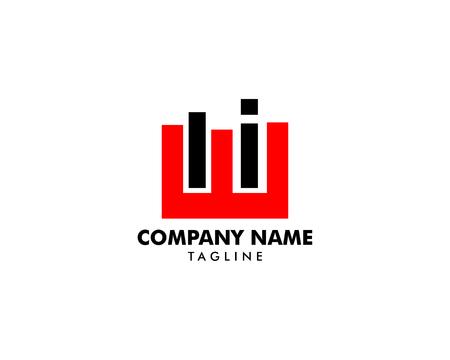 Initial Letter Logo ELI Template Vector Design Stok Fotoğraf - 121554539