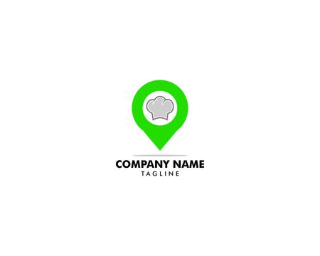 Food Point Logo Design Template