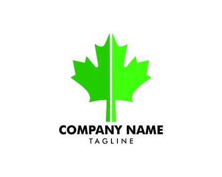 A grape leaf is a logo design element Banque d'images - 124858432