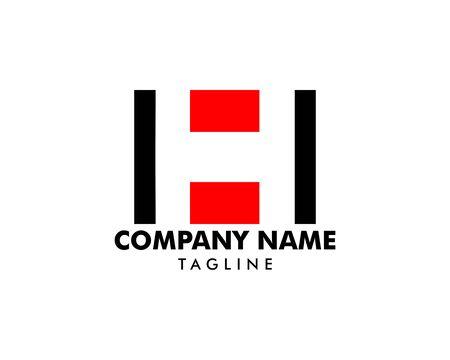 Initial Letter H Logo Template Design Banque d'images - 124858484