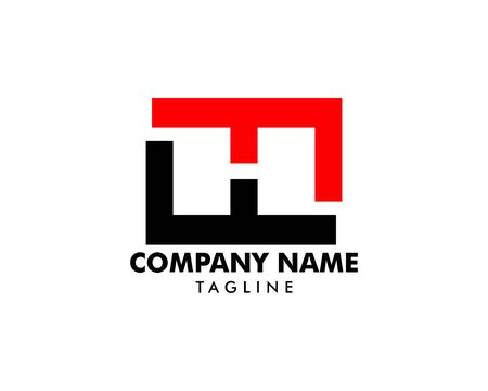 Initial Letter H Logo Template Design Banque d'images - 124858485