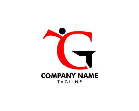 Initial Letter GY Logo Template Design Banque d'images - 124858535