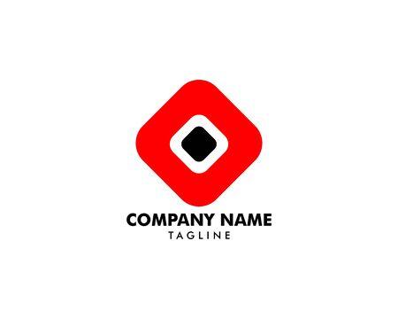 Abstract hexagon Logo Template Design Banque d'images - 124858688