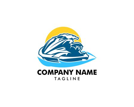 Jet Ski Logo Designs Template