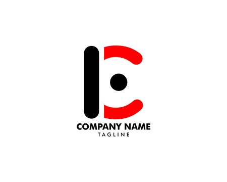 Initial Letter LC Logo Template Design