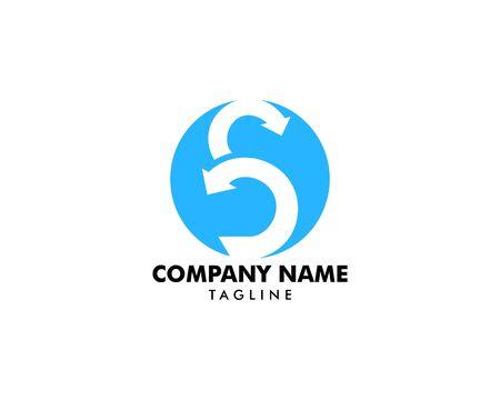 Scrum vector icon illustration logo vector graphics, Creative sign from agile icon