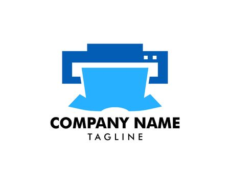 Print Shirt Logo Template Design Vector Illustration