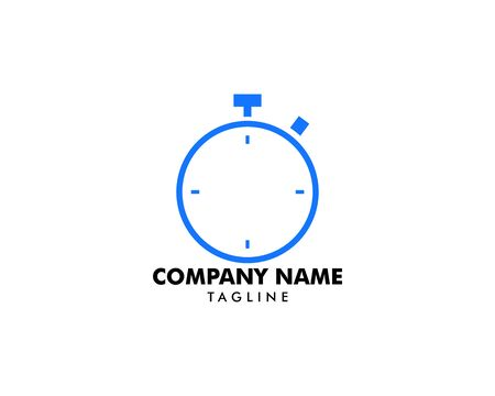 Stopwatch Icon  Logo Template