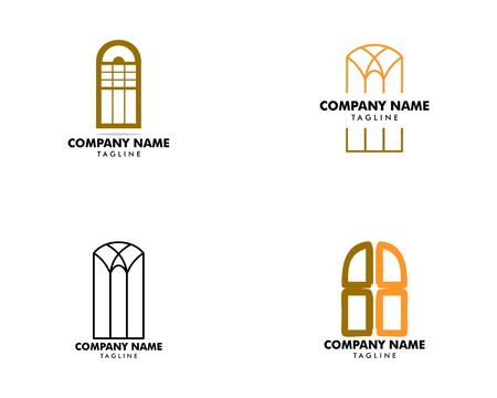Set of Window Icon Vector Logo Template