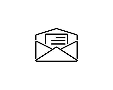 Mail Icon Vector Illustration Design