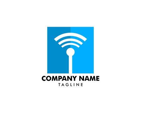 Wifi logo icon connection symbol vector