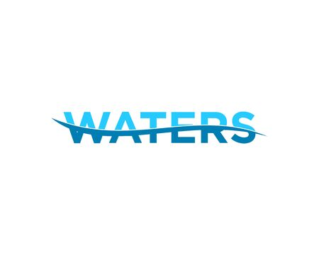 Waters Logo Template Vector Illustration Design
