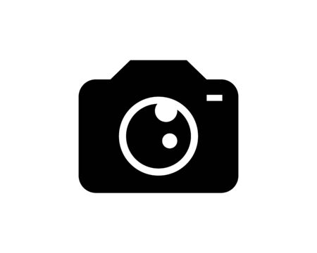 Camera Photography Icon Logo Template Illustration Design Stock Illustratie