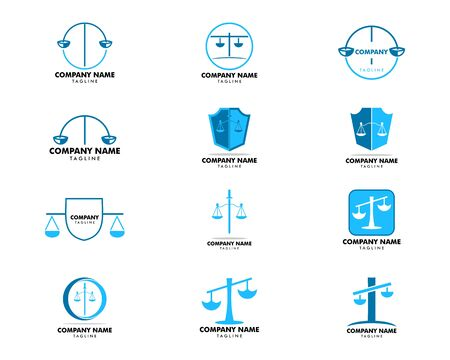 Set of Law Firm  Template Design
