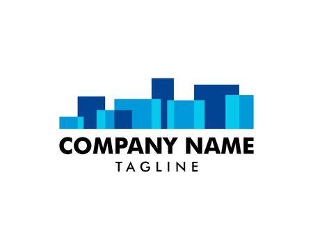 Stadt Logo Template Design Vector Logo
