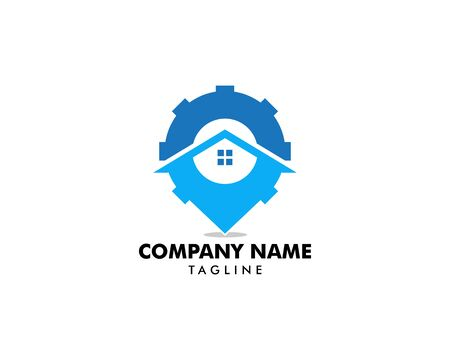 Home Service Logo Template Design