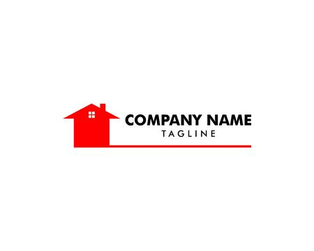 Real Estate, Property and Construction Logo Design Archivio Fotografico - 138420901