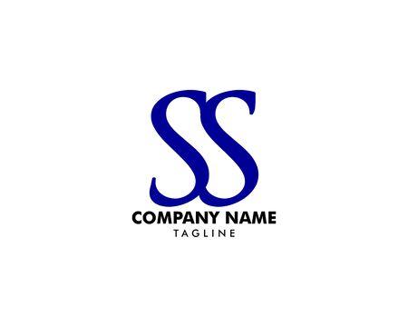 Initial Letter SS Logo Template Design Archivio Fotografico - 139839014