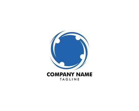 Community People Vector Logo Design Elements Archivio Fotografico - 142454221