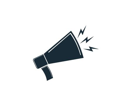 Megaphone Icon Vector  Template  Design Archivio Fotografico - 142041877
