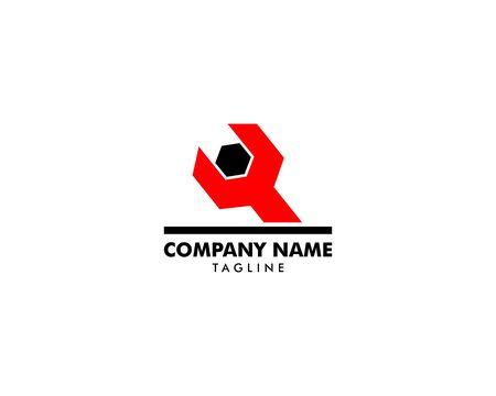 Repair Service Logo Design Element Archivio Fotografico - 142506813