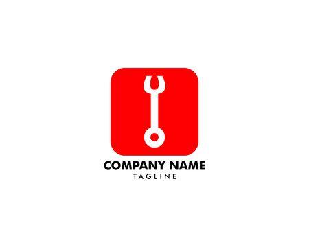 Repair Service Logo Design Element Archivio Fotografico - 142506815