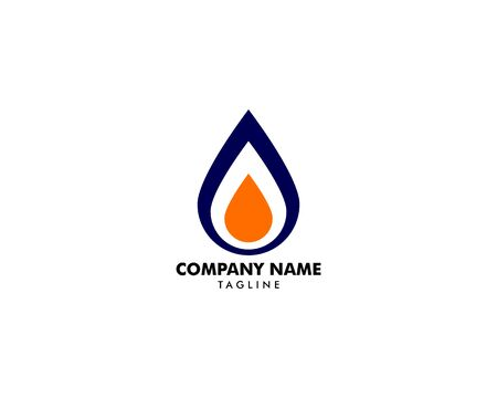 Oil and Gas Logo Design Vector Template