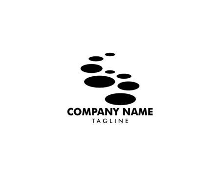 Stepping Stone Logo Template Design