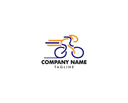 Cycle Sport Logo Template Design
