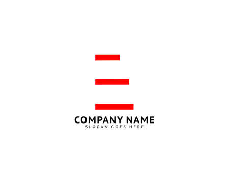 Initial Letter E Logo Template Design