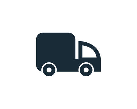 Trucking Service, Delivery Services Icon Vector Logo Template Illustration Design