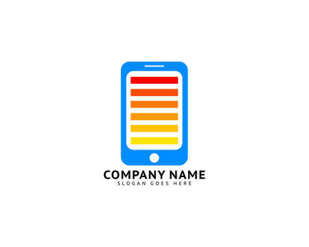 Phone Charger Icon Vector Logo Design Template Иллюстрация