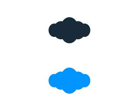 Cloud Icon Vector Logo Template Illustration Design Illustration