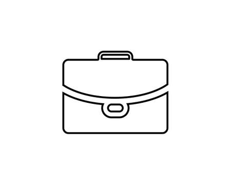 Suitcase Bag Icon Vector Template Illustration Design