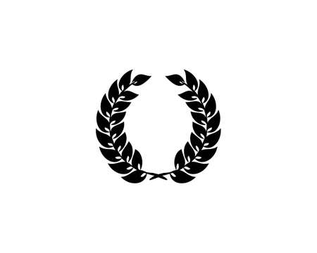 Laurel Wreath Icon Design Template Elements