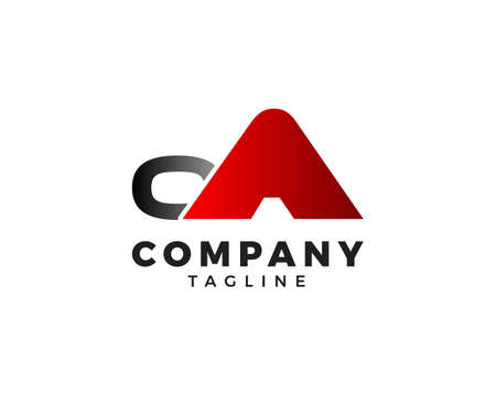 Initial Letter OA Logo Template Design